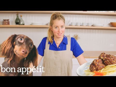 Pro Chef Learns How to Make Dog Food | Bon Appétit