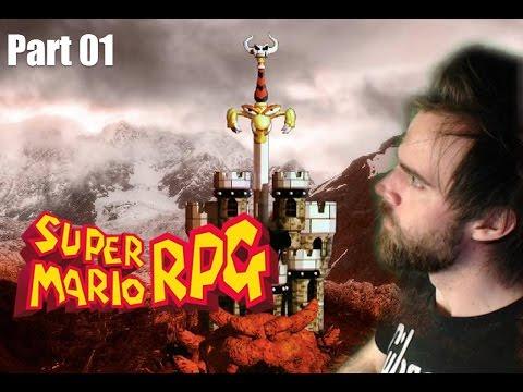 Super Mario RPG Longplay Live #1 (SNES)