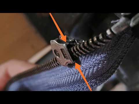 Reissverschluss reparieren / Repair zipper