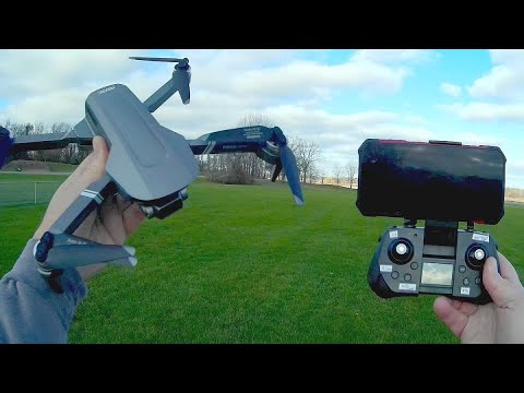 4DRC 4D F4 Low Cost Two Axis Gimbal Brushless GPS Drone Flight Test Review