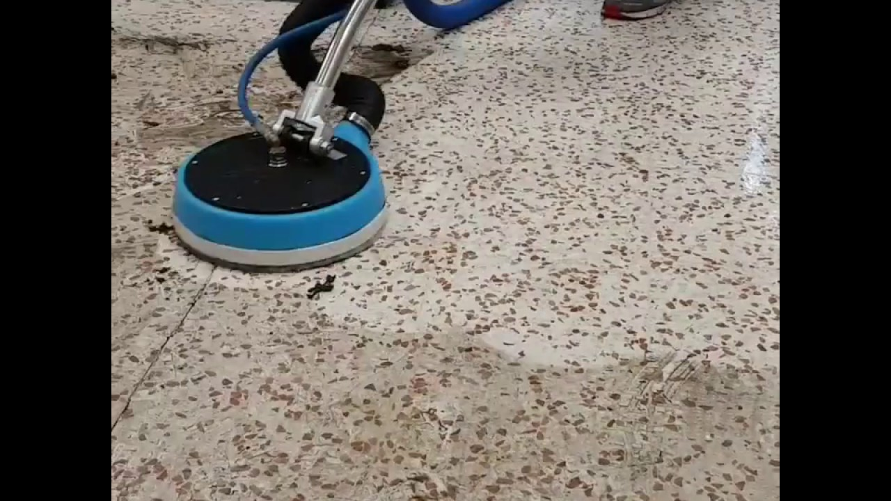 How To Polish And Seal A Terrazzo Floor Youtube