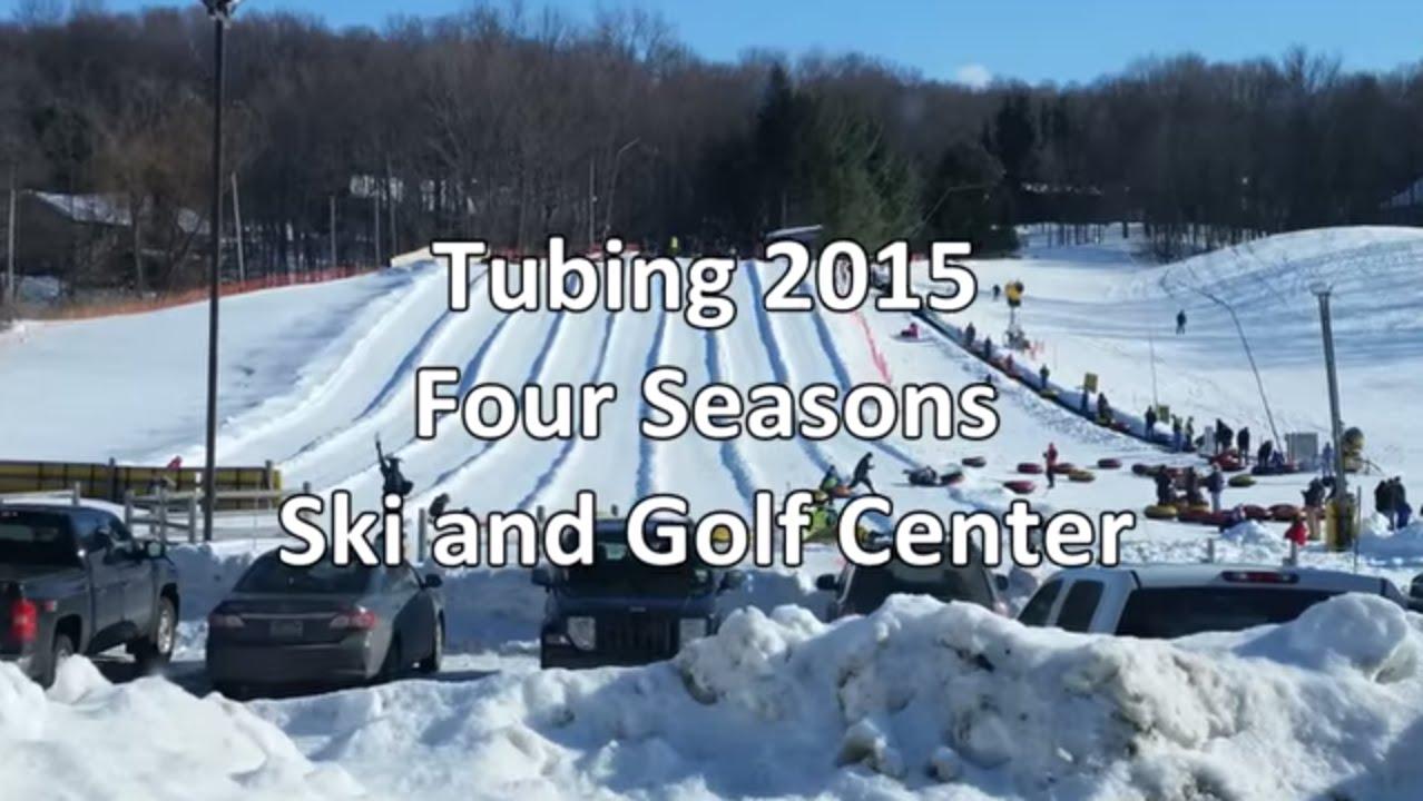 2015 march tubing at 4 seasons - youtube