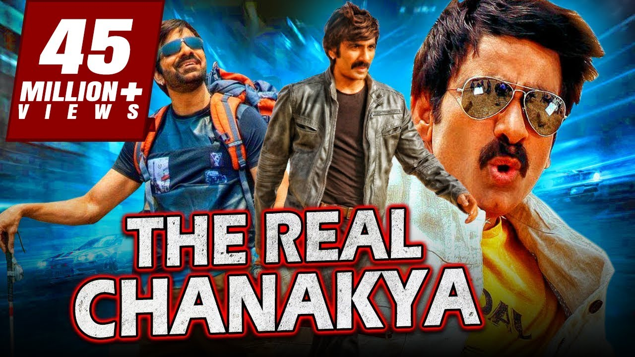 Download The Real Chanakya New South Indian Movies Dubbed in Hindi 2019 Full Movie   Ravi Teja, Malvika