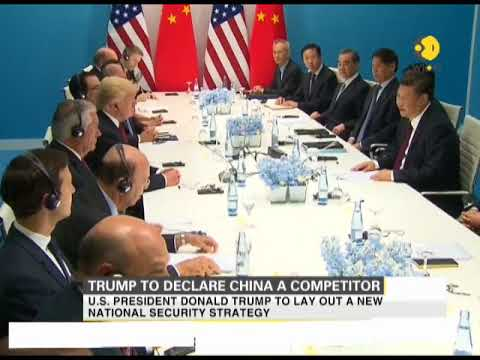 US President Donald Trump to declare China a competitor