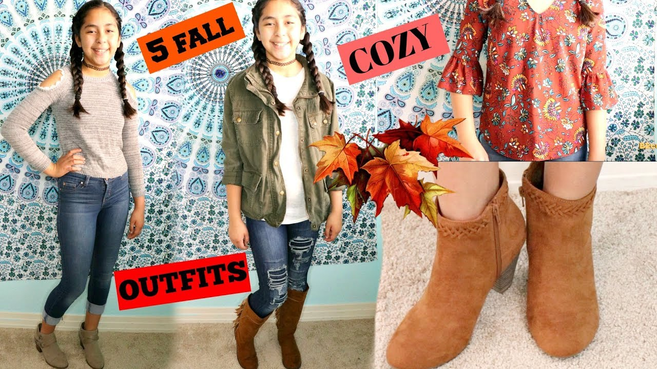 [VIDEO] - 5 FALL OUTFIT IDEAS FOR GIRLS!!!! B2cutecupcakes 8