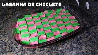 FIZ UMA LASANHA DE CHICLETE COLORIDO! (Especial 100 k)