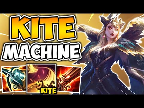 AD ON-HIT LEBLANC IS AN UNKILLABLE KITE MACHINE! (HARASS FOR FREE) - League of Legends