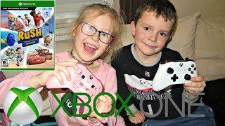 Gramy w  Rush: Przygoda ze studiem Disney Pixar na konsli Xbox One S