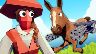 The Horse That Broke TABS - Totally Accurate Battle Simulator