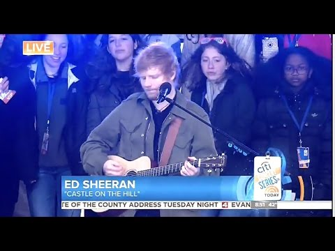 Ed Sheeran  Castle on the Hill  Today Show