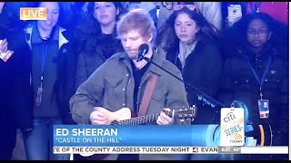 Ed Sheeran - Castle on the Hill - Today Show