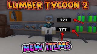 ROBLOX LUMBER TYCOON 2 NEW SECRET ITEM IN WOOD R US! (New item update)