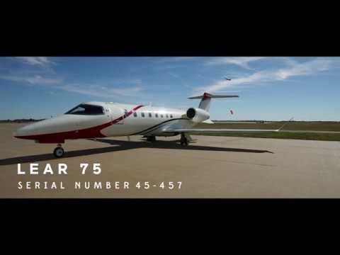 Learjet 75 S/N 45-457
