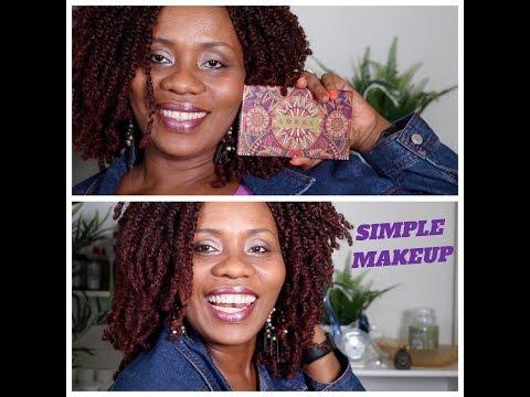 Simple Makeup Tutorial Using Lorac The Getaway Palette | SheaMoringaTV
