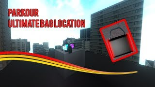 *NEW* Parkour ULTIMATE Bag Location! (ROBLOX)