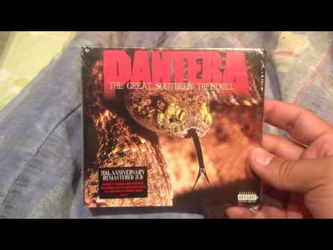 Unboxing Pantera The Great Southern Trendkill 20th Anniversary