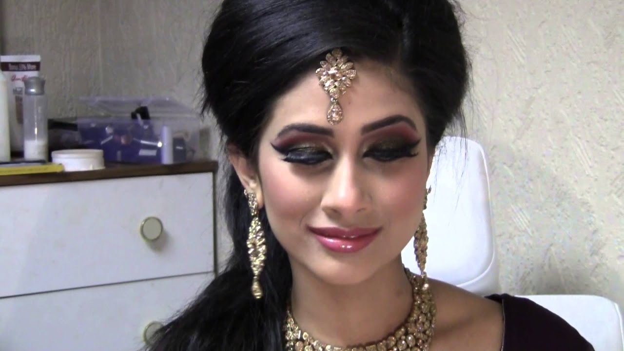 Asian Party Make Up For Small Eyes - YouTube