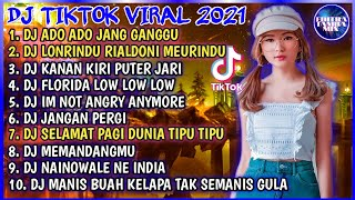 Download DJ ADUH ADUH JANGAN GANGGU   DJ ADO ADO JANG GANGGU   DJ LONRINDU LONRINDU • DJ TIKTOK TERBARU 2021