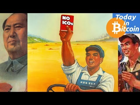 Today in Bitcoin (2017-09-04) - China Declares ICOs Illegal - Russia News - Bitmain Investors