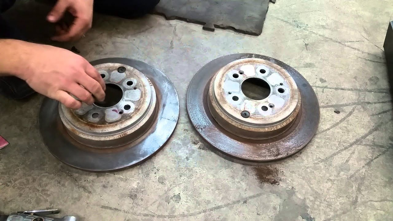 How to eliminate brake pulsation and humming noise - YouTube