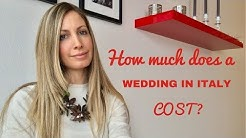 How much does a wedding in Italy cost?