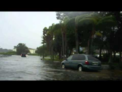 Oldsmar FL flooding because of Tropical Storm Debby