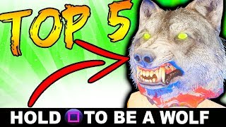 TOP 5 FAST + EASY EASTER EGGS!! | CALL OF DUTY ZOMBIES