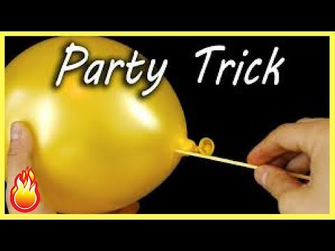 10 Awesome Balloon Tricks For Kids-Balloons Party Tricks