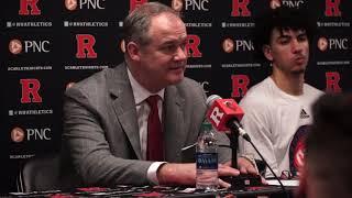 Steve Pikiell recaps Rutgers loss to Michigan - Rutgers Basketball