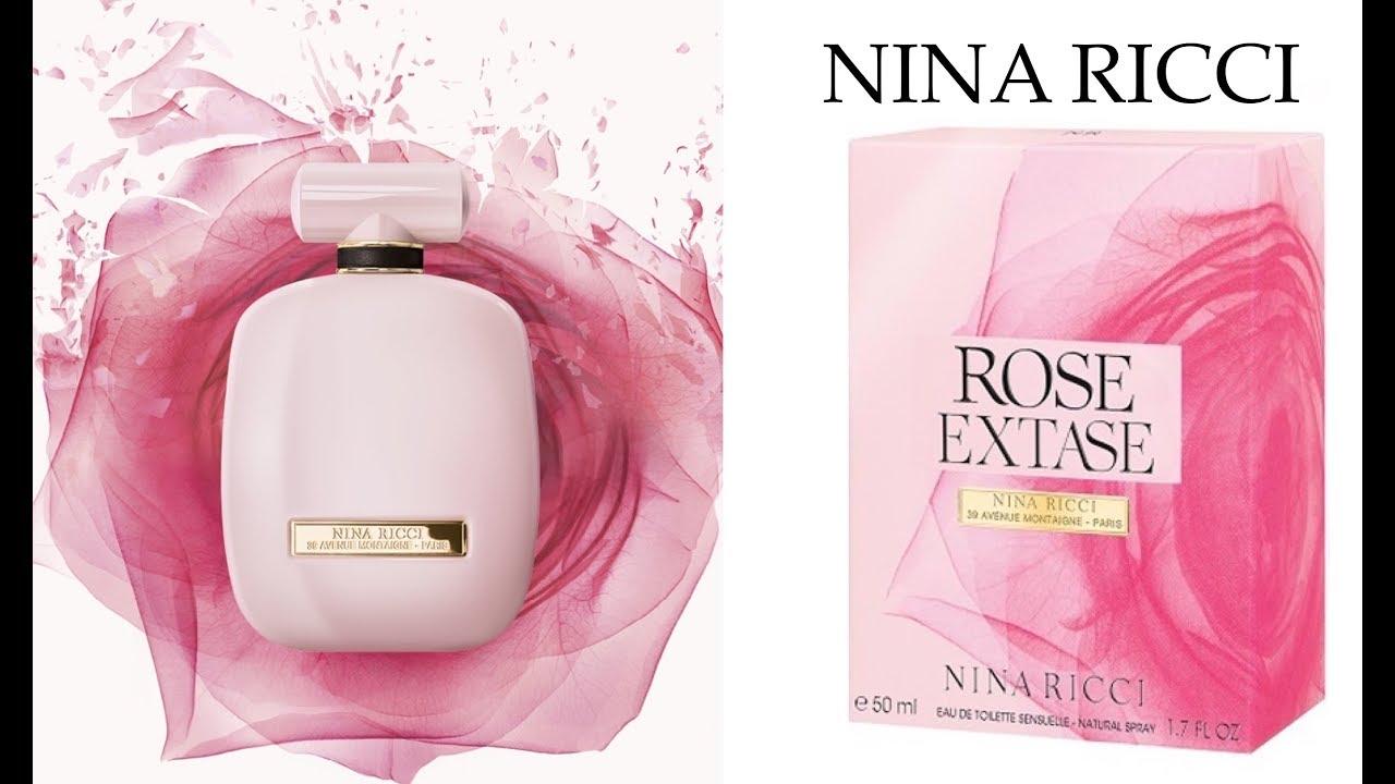Nina Ricci Rose Extase Perfume Review Youtube