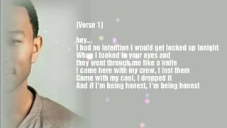 "John Legend - ""A Good Night"" (HD Lyrics)"