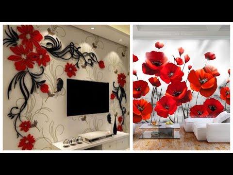 Elegant & Most Popular 3d Wallpaper Water Proof Wallpapers Design