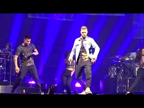 Justin Timberlake - Filthy, Midnight  & LoveStoned - THE MAN OF THE WOODS Tour Birmingham 2018