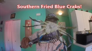 Southern Fried Blue Crabs - Catch and cook!