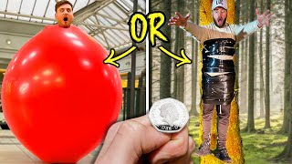 Epic 'HEADS OR TAILS?'  EXTREME Coin Toss Challenge!!!