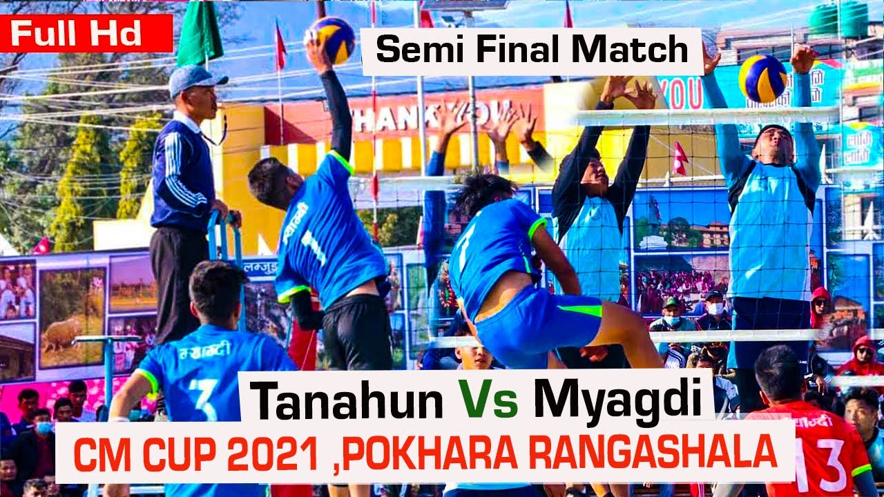 Download Tanahun Vs Myagdi Volleyball Match | Semi final | CM cup 2021 | Pokhara Rangashala nepalivolleyball