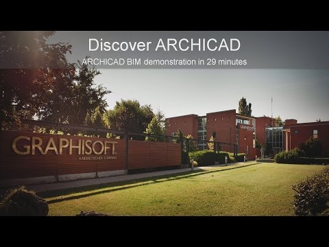 Discover ARCHICAD in 29 minutes