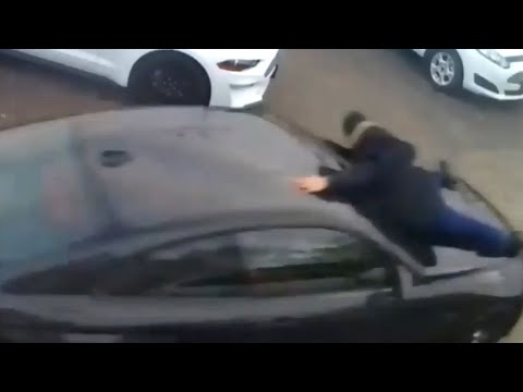 Ont. car salesman tossed from hood of alleged stolen vehicle