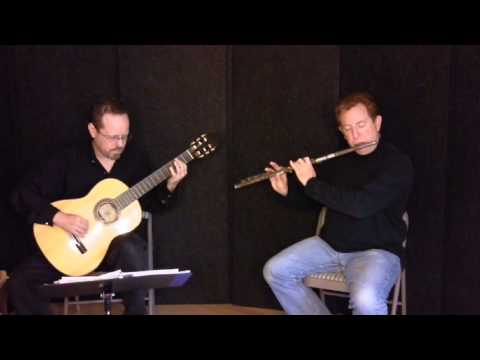 Mantili Kalamatiano (Greek Folk Dance from Kalamata) - Flute and Guitar