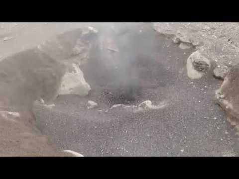 Venting PDC deposit, Santiaguito (Santa Maria) volcano, Guatemala