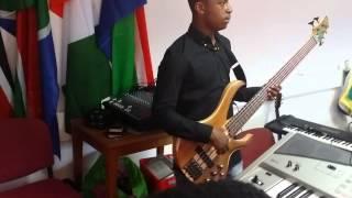 African praises Bass Guitar