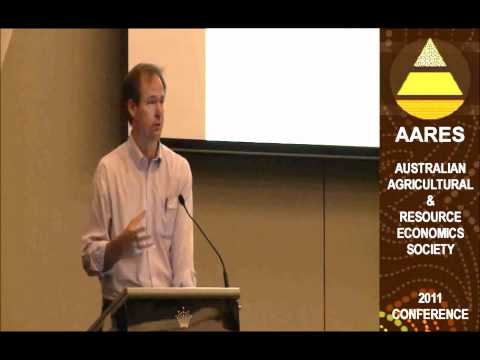 AARES 2011: Richard Bolt on 'Security in our Primary Industries' - Part 1 of 2