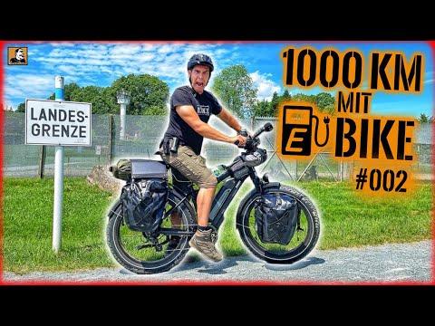 1000km TODESSTREIFEN - PREPPER EBIKE TOUR #002   Survival Mattin