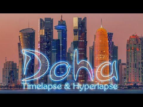 Doha trip. Qatar Timelapse & Hyperlapse
