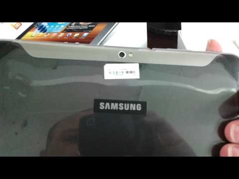 SAMSUNG P7300 GALAXY TAB 8.9 Unboxing Video - Tablet in Stock at www.welectronics.com