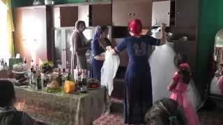 01 Цыганская! Свадьба Цыганская! Приготовление невесты! Олежек и Винерочка HD