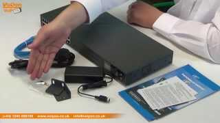 Grandstream GXW4200 Series FXS Analog VoIP Gateway Video Review / Unboxing Mp3