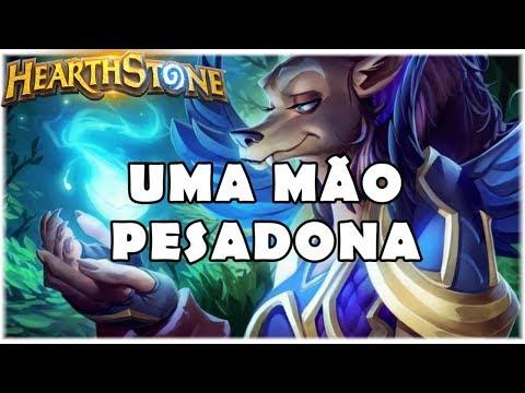 HEARTHSTONE - UMA MÃO PESADONA! (STANDARD HAND DRUID)