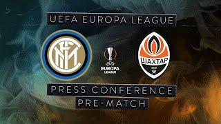 INTER vs SHAKHTAR | Pre-Match Press Conference Conte + Handanovic | UEFA EUROPA LEAGUE [SUB ENG] ⚫🔵🏆