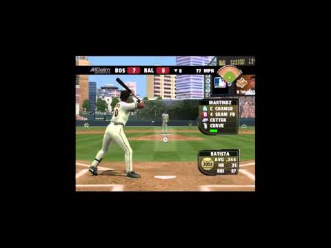 All Star Baseball 2004 Scenario Mode